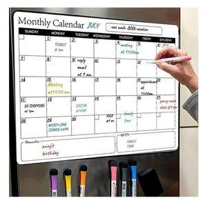 Magnetic Fridge Calendar